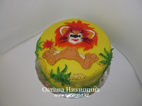 Торт Львенок