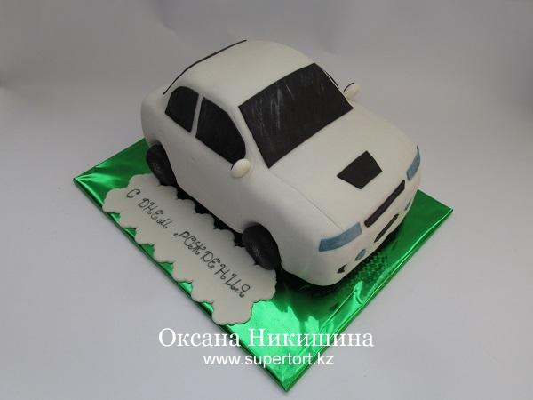 Торт Машина