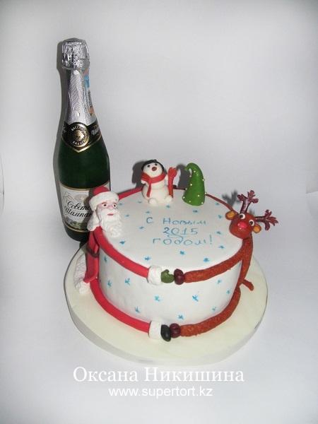 Торт С Новым Годом (2)