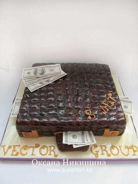 Торт Кейс из крокодиловой кожи