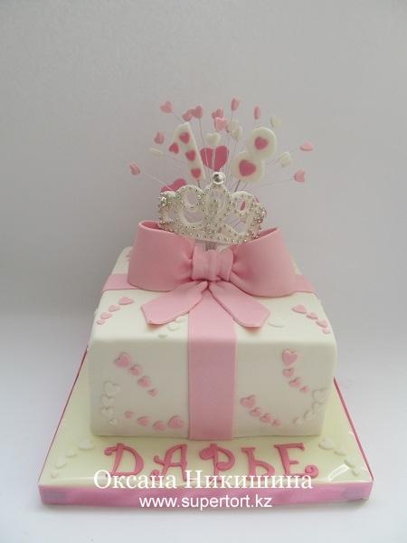 Торт Подарок для принцессы