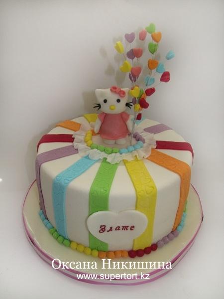 Торт Любимая Китти