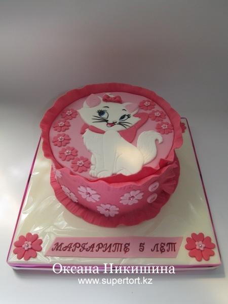 Торт Кошечка для Маргошечки