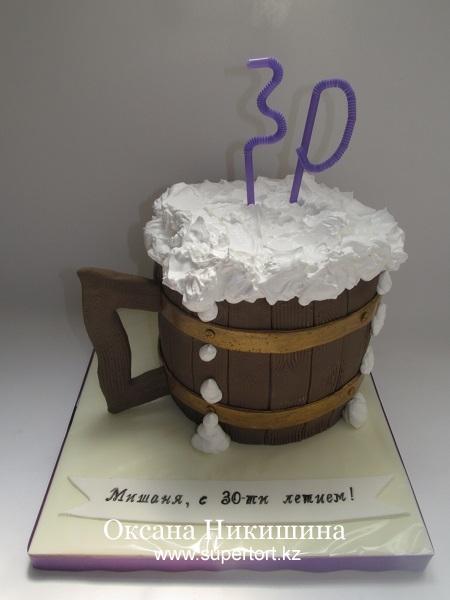 Торт Кружка пива 2