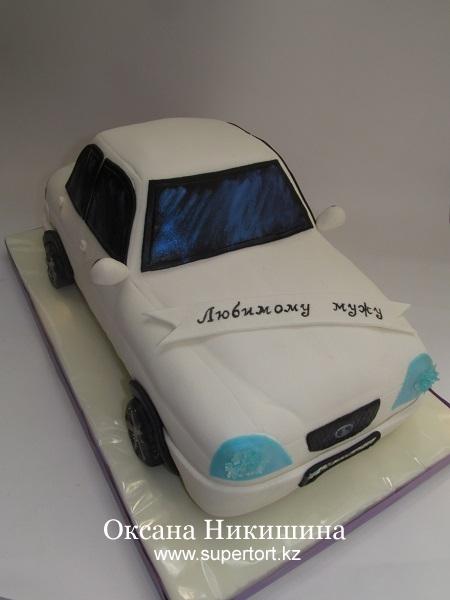 Торт Машина Лада Приора