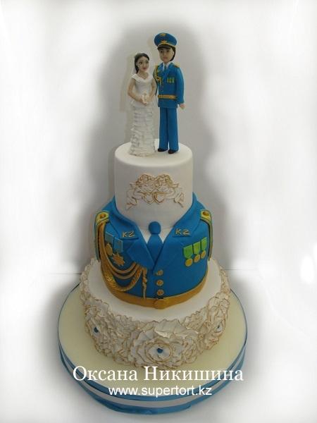 Торт Свадебный Женитьба лейтенанта