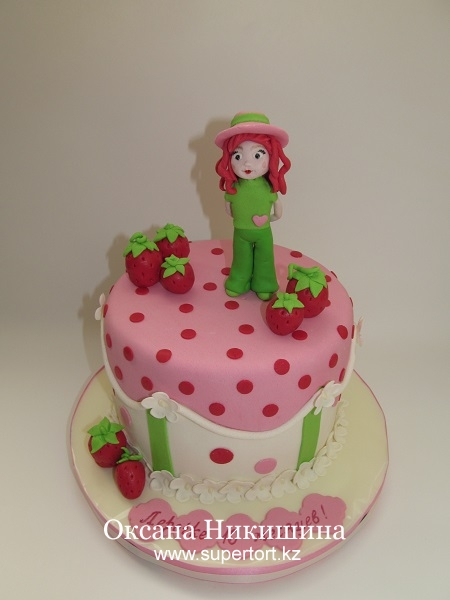 Торт Клубничная фея