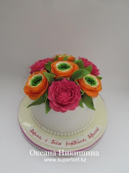 Торт Букет для любимой