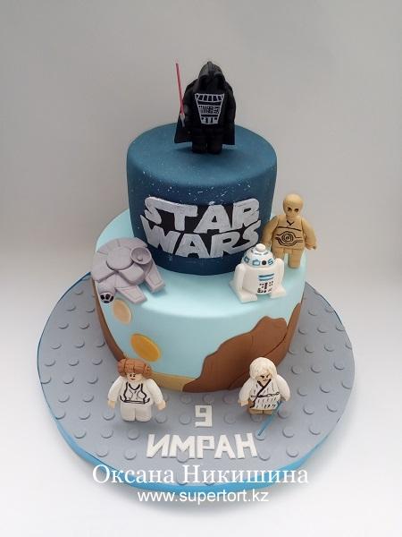 Торт LEGO. Star Wars.