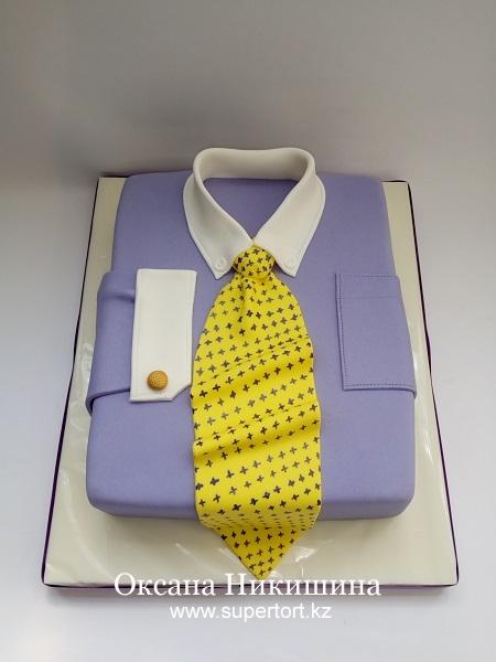 Торт Рубашка стильного мужчины