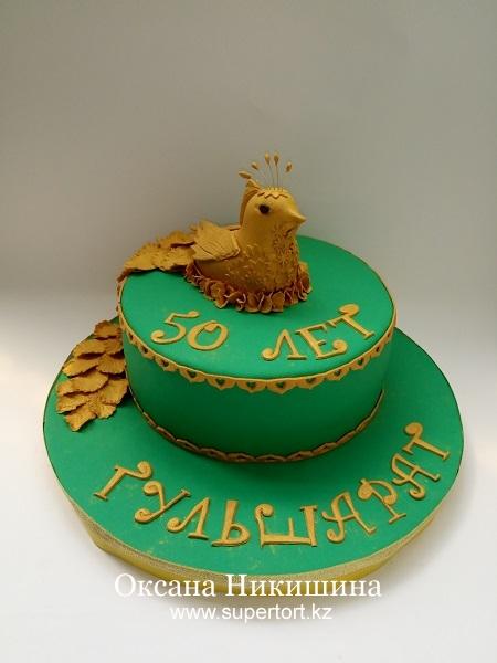 Торт Золотая птица