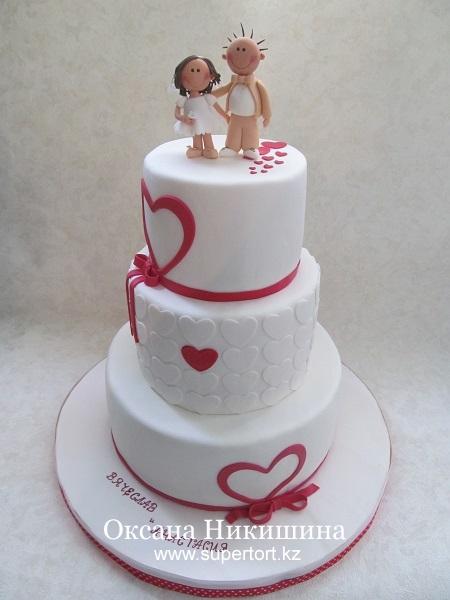 Свадебный торт Асисяй лубофь