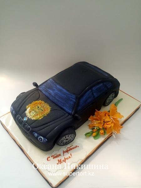 Торт Машина BMW