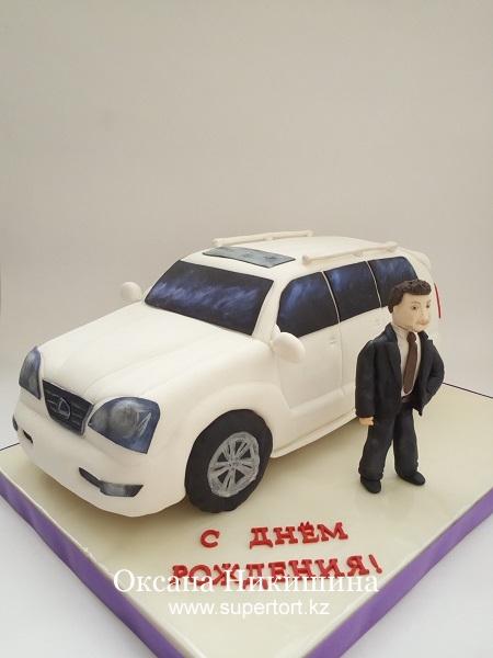 """Торт """"Lexus для настоящего мужчины"""""""