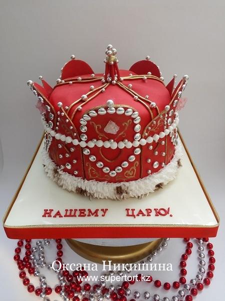"""Торт """"Нашему Царю!"""""""