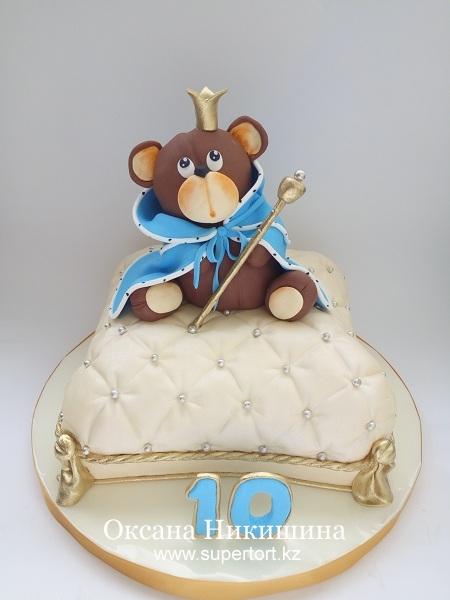 "Торт ""Медвежонок-царь"""