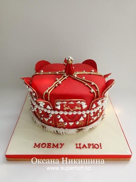"""Торт """"Моему царю!"""""""