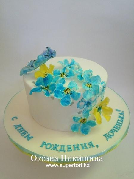 """Торт """"Любимой доченьке"""""""