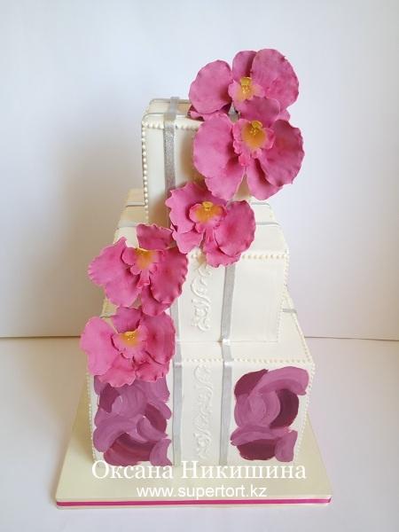 "Торт ""Песня орхидеи"""