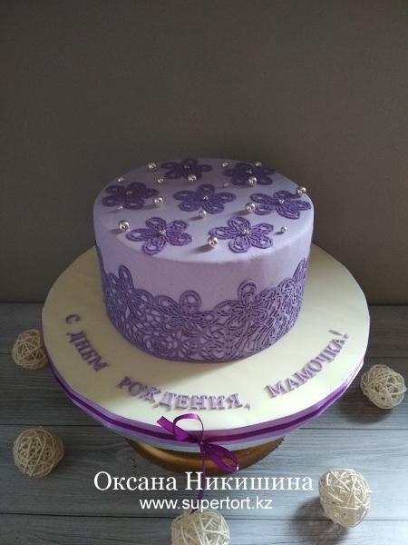 """Торт """"Фиолетовая нежность"""""""