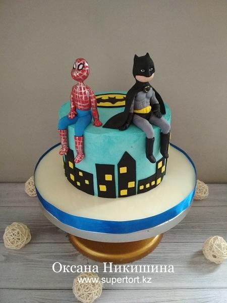 "Торт ""Супергерои"""