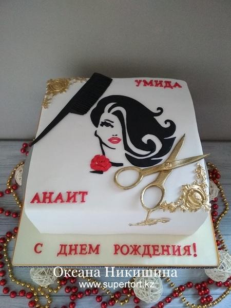 "Торт ""Феи-стилисты"""