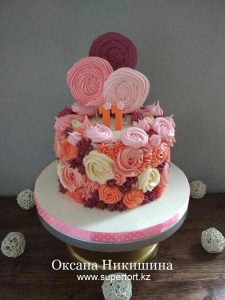 """Торт """"Софии 11 месяцев"""""""