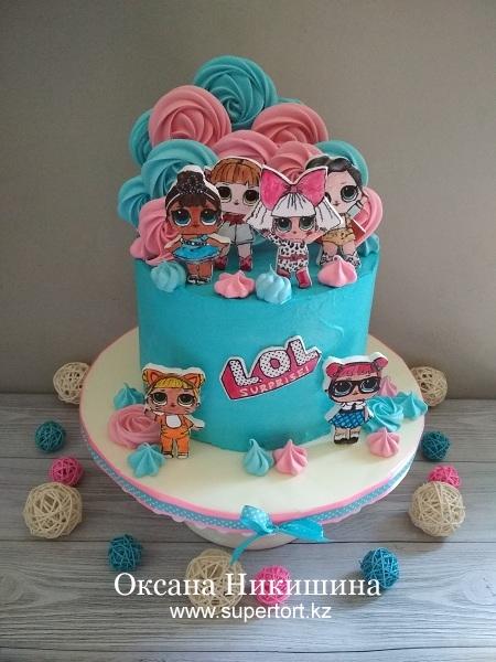 """Торт """"L.O.L."""""""