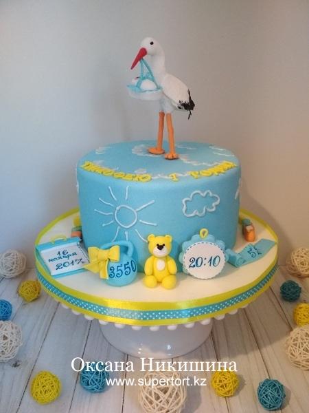 """Торт """"Тимофею 1 годик!"""""""