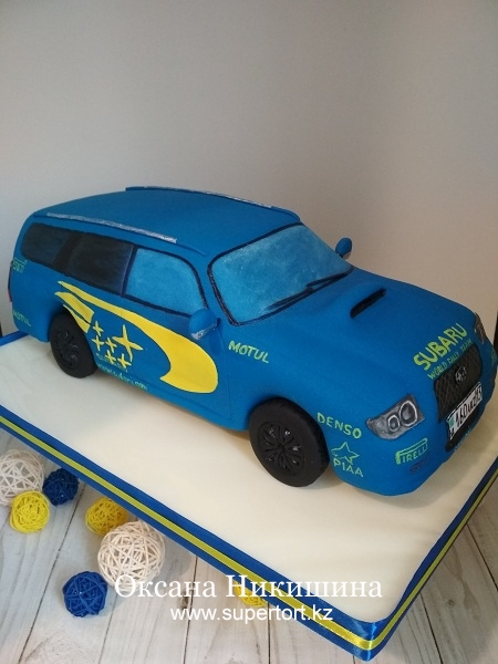 "Торт ""Subaru"""