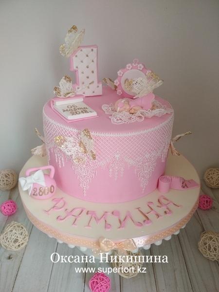 Торт «Рамине 1 год»