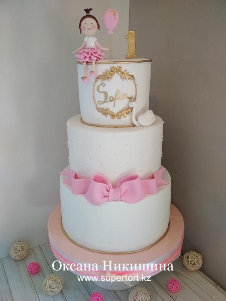 """Торт """"Софие 1 год!"""""""